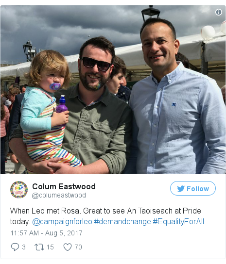 Twitter post by @columeastwood