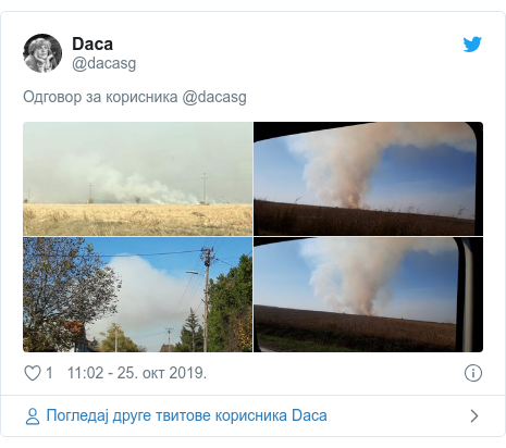 Twitter post by @dacasg: