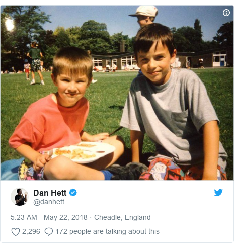 Twitter post by @danhett: