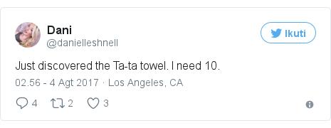 Twitter pesan oleh @danielleshnell