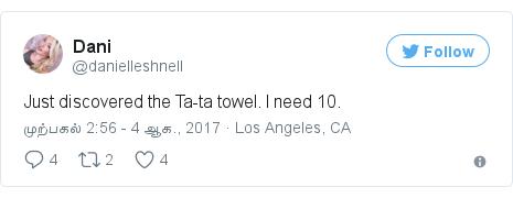 Twitter post by @danielleshnell