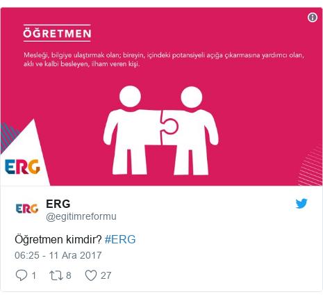 @egitimreformu tarafından yapılan Twitter paylaşımı: Öğretmen kimdir? #ERG