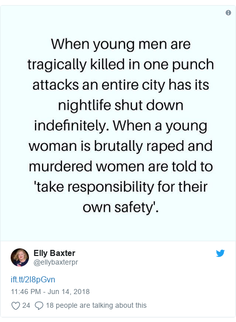 Twitter post by @ellybaxterpr: