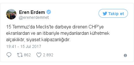 @erenerdemnet tarafından yapılan Twitter paylaşımı