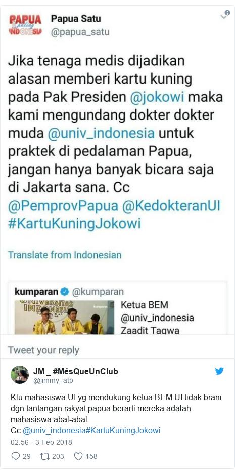 Image Result For Aksi Kartu Kuning Untuk Presiden Jokowi Tidak Sopan