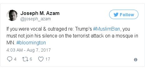 Twitter post by @joseph_azam