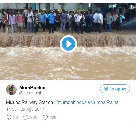@katamulgi tarafından yapılan Twitter paylaşımı: Mulund Railway Station..#mumbaifloods #MumbaiRains pic.twitter.com/2PKb7OYNtm