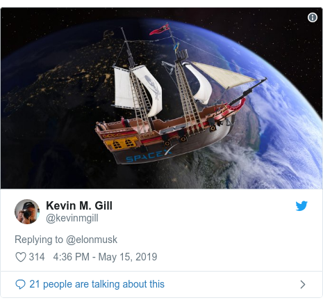 Twitter post by @kevinmgill: