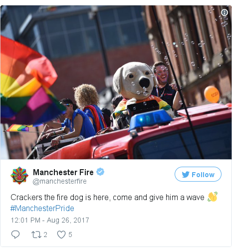 Twitter post by @manchesterfire
