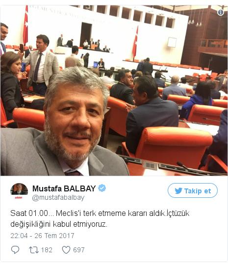 @mustafabalbay tarafından yapılan Twitter paylaşımı
