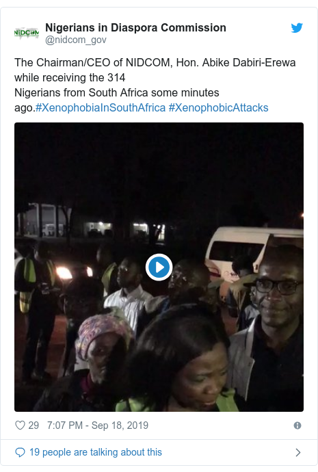 Xenophobia: Second batch of Nigerians don land from South Africa