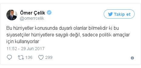 @omerrcelik tarafından yapılan Twitter paylaşımı