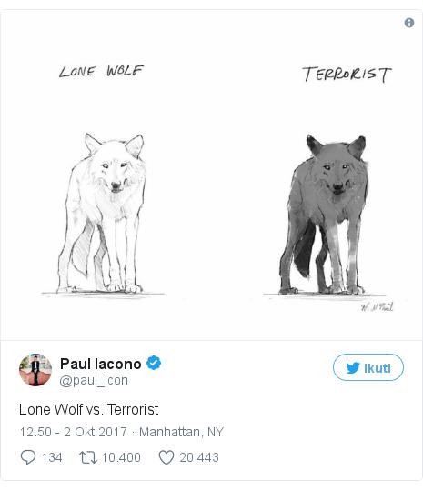 Twitter pesan oleh @paul_icon: Lone Wolf vs. Terrorist pic.twitter.com/XJ2cnaPUgw