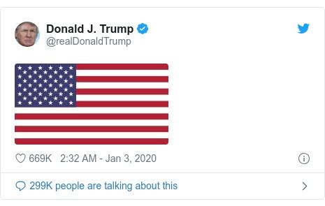 Twitter waxaa daabacay @realDonaldTrump: