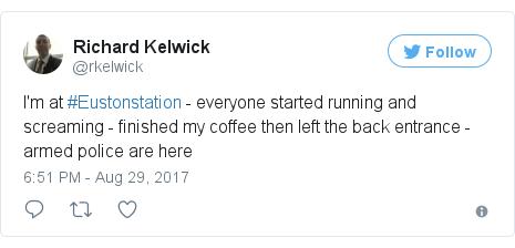 Twitter post by @rkelwick