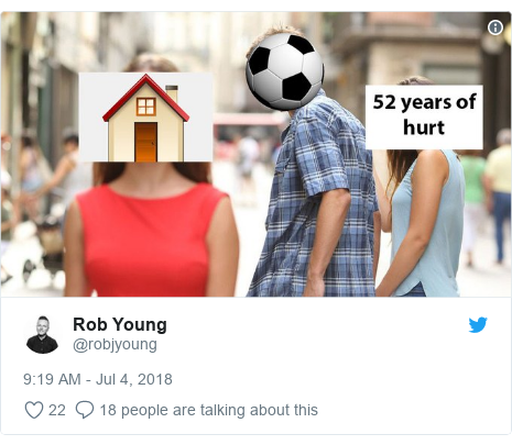 Twitter post by @robjyoung: