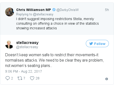 Twitter post by @stellacreasy