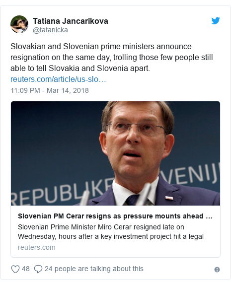 Slovenia, Slovakia, and the constant confusion between the two