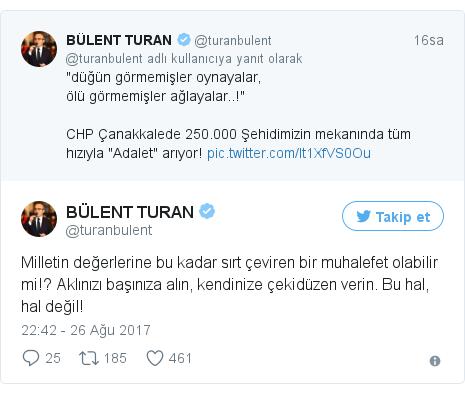 @turanbulent tarafından yapılan Twitter paylaşımı