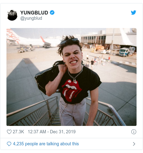 Twitter post by @yungblud: