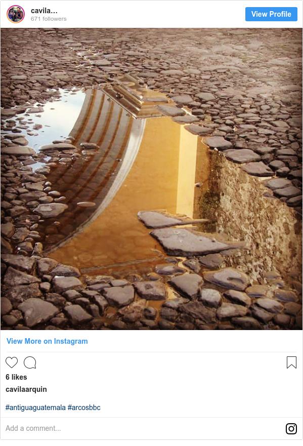 Publicación de Instagram por cavilaarquin: #antiguaguatemala #arcosbbc