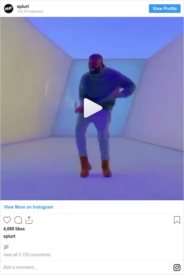 Instagram post by splurt: 🎾