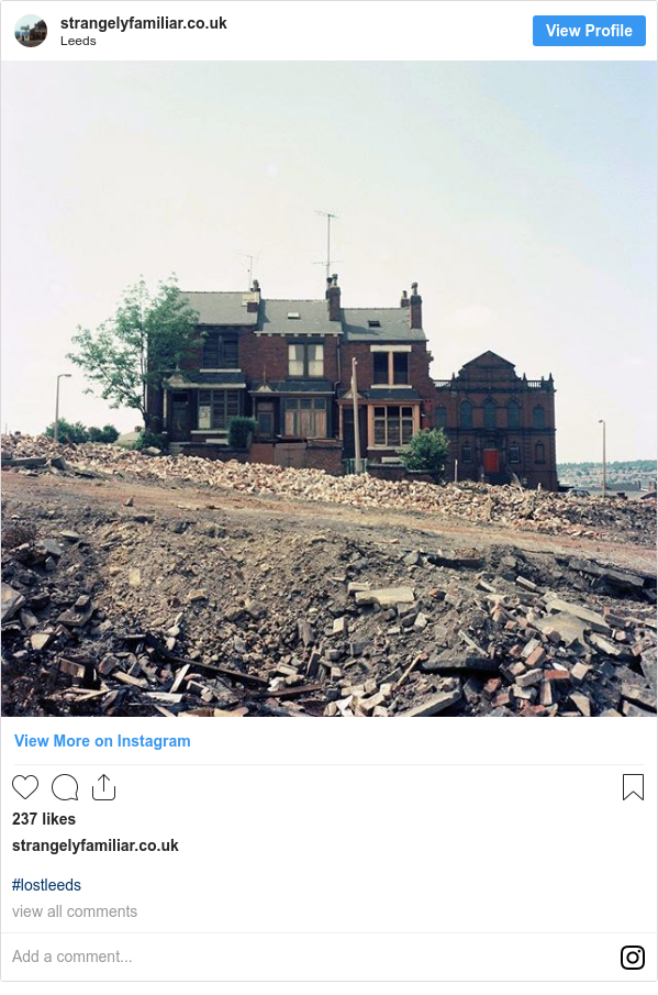 Instagram post by strangelyfamiliar.co.uk: #lostleeds