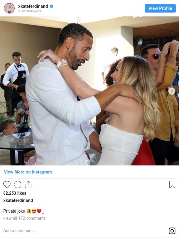 Instagram post by xkateferdinand: Private joke 🤣😍❤️🥰
