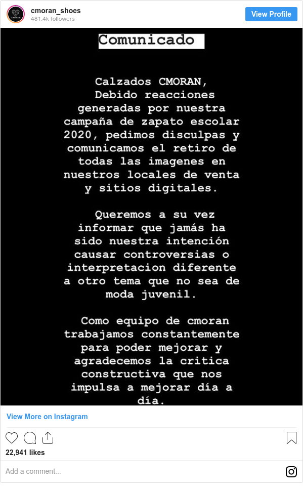 Publicación de Instagram por cmoran_shoes:
