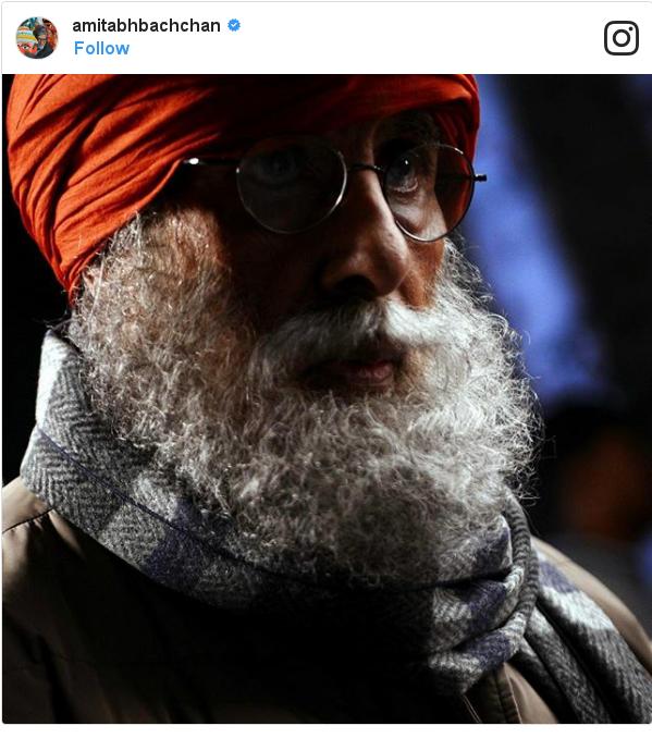 Instagram post by amitabhbachchan: