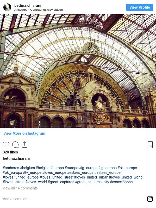 Publicación de Instagram por bettina.chiarani: #amberes #belgium #belgica #europa #europe #ig_europe #ig_europa #ok_europe #ok_europa #tv_europe #loves_europe #estaes_europa #estaes_europe #loves_united_europe #loves_united_street #loves_united_urban #loves_united_world  #loves_street #loves_world #great_captures #great_captures_city #conexiónbbc