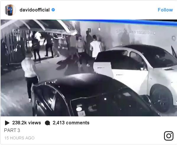 Instagram post by davidoofficial: PART 3