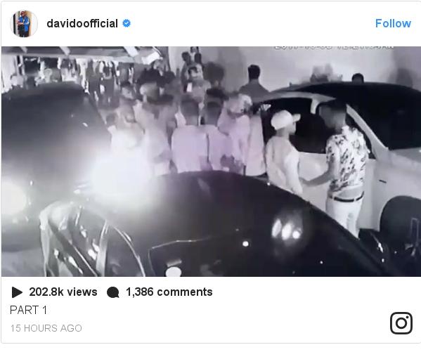 Instagram post by davidoofficial: PART 1