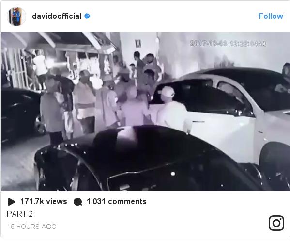 Instagram post by davidoofficial: PART 2