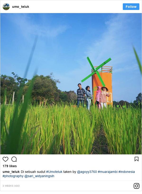 Instagram pesan oleh umo_teluk: Di sebuah sudut #Umoteluk taken by @agoyy3760 #muarajambi #indonesia #photography @sari_widyaningsih