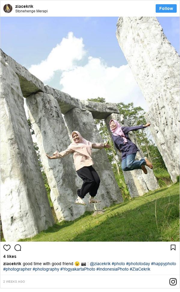 Instagram pesan oleh ziacekrik: good time with good friend 😉 📷   @ziacekrik  #photo #phototoday #happyphoto #photographer #photography #YogyakartaPhoto #IndonesiaPhoto #ZiaCekrik
