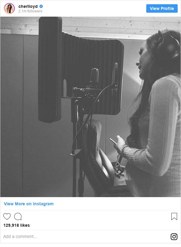 Instagram post by cherlloyd: