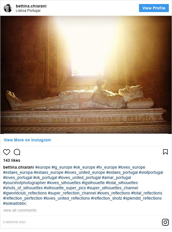 Publicación de Instagram por bettina.chiarani: #europe #ig_europe #ok_europe #tv_europe #loves_europe #estaes_europa #estaes_europe #loves_united_europe #estaes_portugal #visitportugal #loves_portugal #ok_portugal #loves_united_portugal #amar_portugal #yourshotphotographer #loves_silhouettes #igsilhouette #total_silhouettes #shots_of_silhouettes #silhouette_super_pics #super_silhouettes_channel #igworldclub_reflections #super_reflection_channel #loves_reflections #total_reflections #reflection_perfection #loves_united_reflections #reflection_shotz #splendid_reflections #soleadobbc