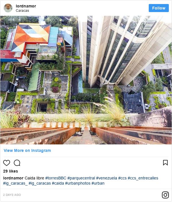 Publicación de Instagram por lordnamor: Caida libre  #torresBBC #parquecentral #venezuela #ccs #ccs_entrecalles #ig_caracas_ #ig_caracas #caida #urbanphotos #urban