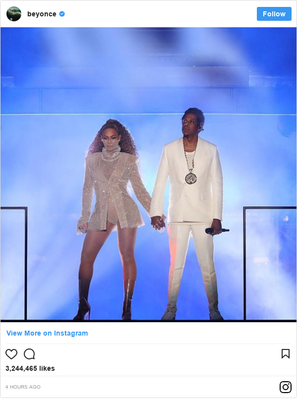 Instagram post by beyonce: