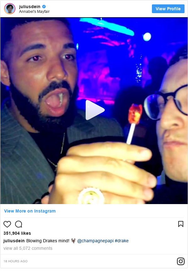 The UK magician who blew Drake's mind with a magic lollipop