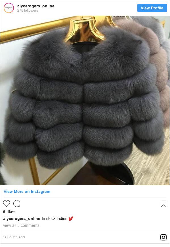 Instagram post by alycerogers_online: In stock ladies 💕