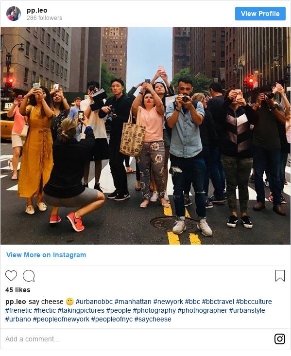 Publicación de Instagram por pp.leo: say cheese 😬 #urbanobbc #manhattan #newyork #bbc #bbctravel #bbcculture #frenetic #hectic #takingpictures #people #photography #phothographer #urbanstyle #urbano #peopleofnewyork #peopleofnyc #saycheese