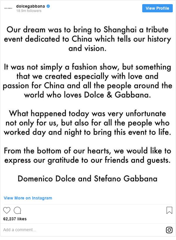 Instagram 用户名 dolcegabbana: