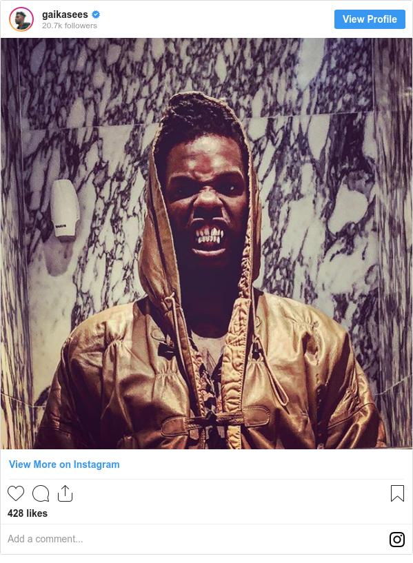Instagram post by gaikasees: