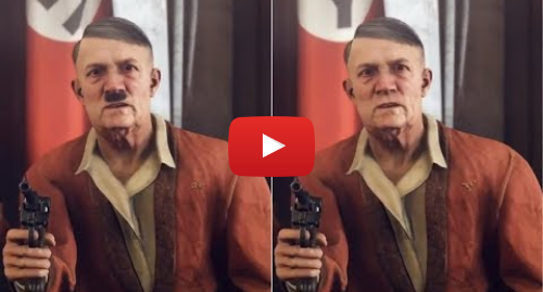 Youtube post by Censored Gaming: How Wolfenstein II Censored Hitler In Germany Germany lifts total ban on Nazi symbols in video games Germany lifts total ban on Nazi symbols in video games world europe 45142651