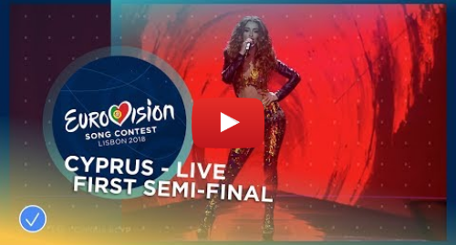 Youtube post by Eurovision Song Contest: Eleni Foureira - Fuego - Cyprus - LIVE - First Semi-Final - Eurovision 2018