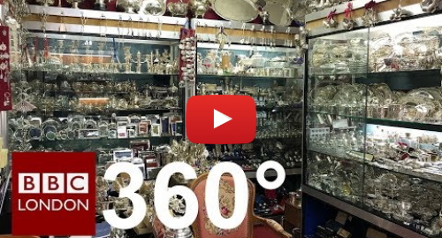 Youtube post by BBC London: 360 Video  Inside's the London Silver Vaults - BBC London