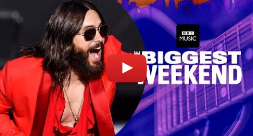 Youtube post by BBC Radio 1: Thirty Seconds to Mars ft. Shawn Mendes - Rescue Me (The Biggest Weekend)