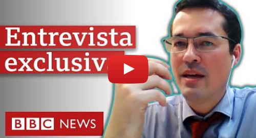 YouTube post de BBC News Brasil: Dallagnol  Em 'conversas íntimas', você é 'um pouco irresponsável'
